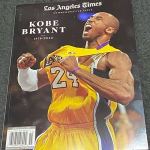 Los Angeles Times Commemorative Issue KOBE…